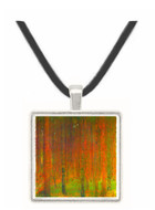 Tannenwald II by Klimt -  Museum Exhibit Pendant - Museum Company Photo
