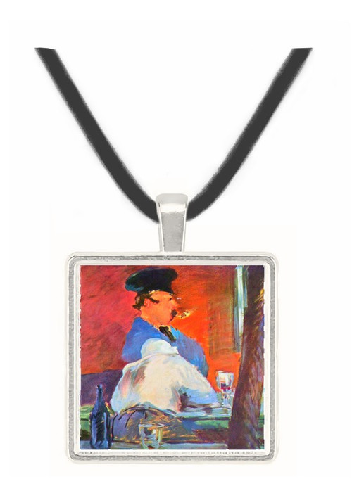 Tavern by Manet -  Museum Exhibit Pendant - Museum Company Photo