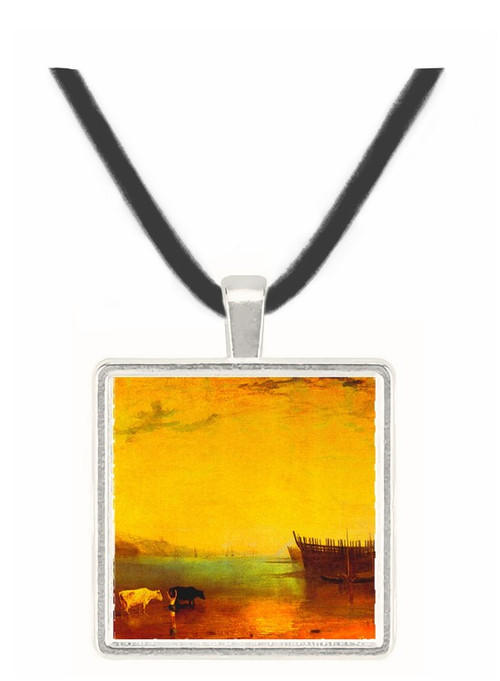 Teignmouth by Joseph Mallord Turner -  Museum Exhibit Pendant - Museum Company Photo