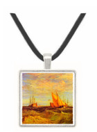 Thames at the Medway by Joseph Mallord Turner -  Museum Exhibit Pendant - Museum Company Photo