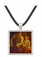 The American Farmer - Thomas Sully -  Museum Exhibit Pendant - Museum Company Photo
