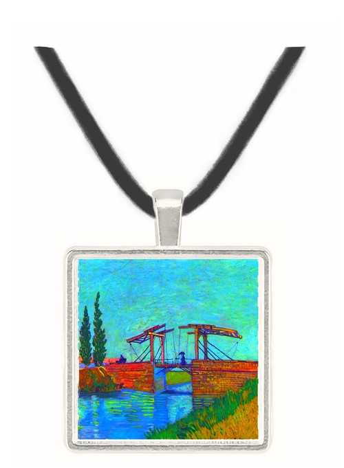 The Anglois Bridge at Arles (The drawbridge) by Van Gogh -  Museum Exhibit Pendant - Museum Company Photo
