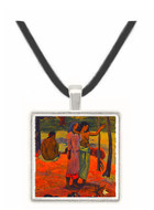 The Appeal - Paul Gauguin -  Museum Exhibit Pendant - Museum Company Photo
