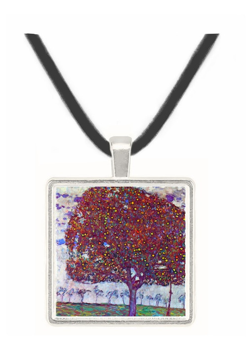 The Apple Tree by Klimt -  Museum Exhibit Pendant - Museum Company Photo