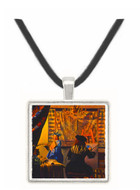 The Artists Studio - Jan Vermeer van Delft -  Museum Exhibit Pendant - Museum Company Photo