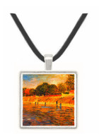 The Banks of the Seine -  Museum Exhibit Pendant - Museum Company Photo