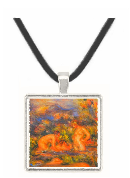 The bathers (Detail) by Renoir -  Museum Exhibit Pendant - Museum Company Photo