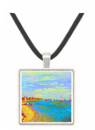 The Beach at Sainte Adresse by Monet -  Museum Exhibit Pendant - Museum Company Photo