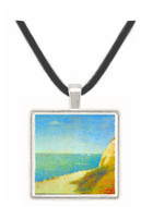 The Beach by Seurat -  Museum Exhibit Pendant - Museum Company Photo