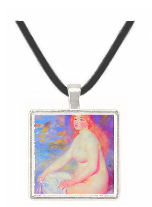 The blond bather #1 by Renoir -  Museum Exhibit Pendant - Museum Company Photo