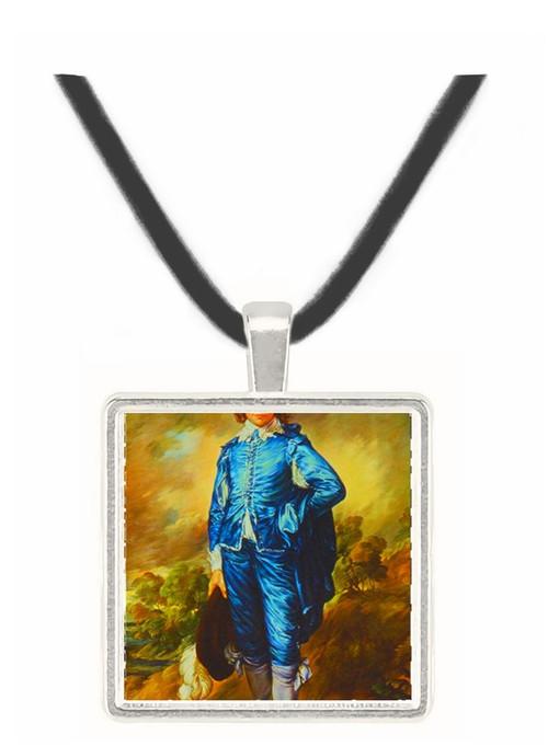 The Blue Boy - Thomas Eakins -  Museum Exhibit Pendant - Museum Company Photo