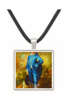 The Blue Boy - Thomas Eakins -  Museum Exhibit Pendant - Museum Company Photo