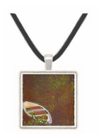 The Boat by Monet -  Museum Exhibit Pendant - Museum Company Photo