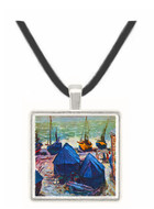 The Boats by Monet -  Museum Exhibit Pendant - Museum Company Photo