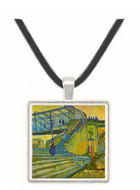 The Bridge at Trinquetaille by Van Gogh -  Museum Exhibit Pendant - Museum Company Photo
