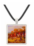 The Bury Hunt - Il Bronzino -  Museum Exhibit Pendant - Museum Company Photo
