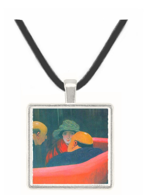 The chaste Susanne by Felix Vallotton -  Museum Exhibit Pendant - Museum Company Photo