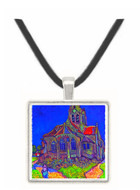 The Church of Auvers by Van Gogh -  Museum Exhibit Pendant - Museum Company Photo