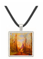 The Church of Marissel - Jean Baptiste Camille Corot -  Museum Exhibit Pendant - Museum Company Photo