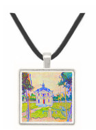 The community house in Auvers by Van Gogh -  Museum Exhibit Pendant - Museum Company Photo