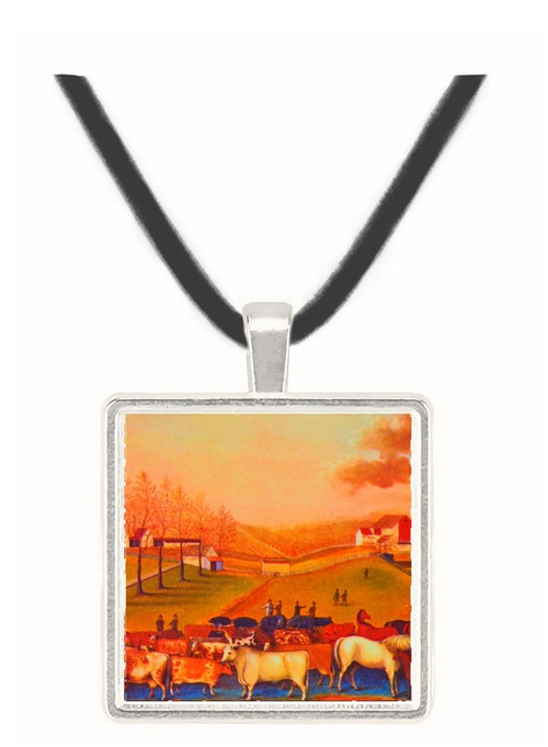 The Cornell Farm - Edward Hicks -  Museum Exhibit Pendant - Museum Company Photo