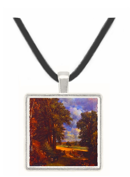 The Cornfield - John Constable -  Museum Exhibit Pendant - Museum Company Photo