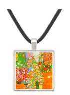 The dancer by Klimt -  Museum Exhibit Pendant - Museum Company Photo