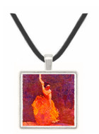 The Dancing Girl - Henri de Toulouse Lautrec -  Museum Exhibit Pendant - Museum Company Photo