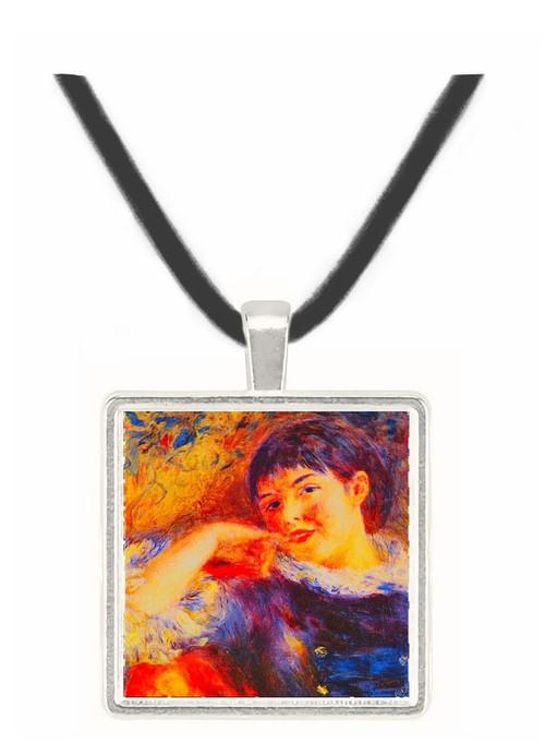 The Dreamer - Auguste Renoir -  Museum Exhibit Pendant - Museum Company Photo