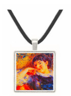 The Dreamer - Auguste Renoir -  Museum Exhibit Pendant - Museum Company Photo