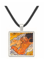The Embrace by Schiele -  Museum Exhibit Pendant - Museum Company Photo