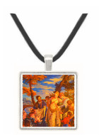 The Finding of Moses - Pall Mall - Thomas Hosmer Shepherd -  -  Museum Exhibit Pendant - Museum Company Photo