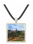 The Garden of the Infanta by Monet -  Museum Exhibit Pendant - Museum Company Photo