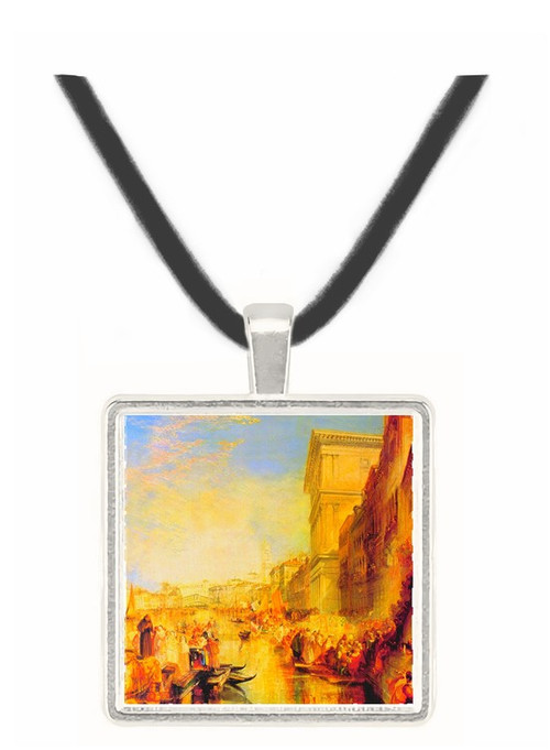 The grand canal in Venice by Joseph Mallord Turner -  Museum Exhibit Pendant - Museum Company Photo