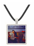 The Housekeeper - Nicolaes Maes -  Museum Exhibit Pendant - Museum Company Photo
