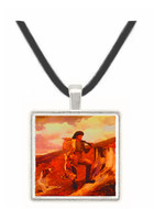 The Hunter - Winslow Homer -  Museum Exhibit Pendant - Museum Company Photo