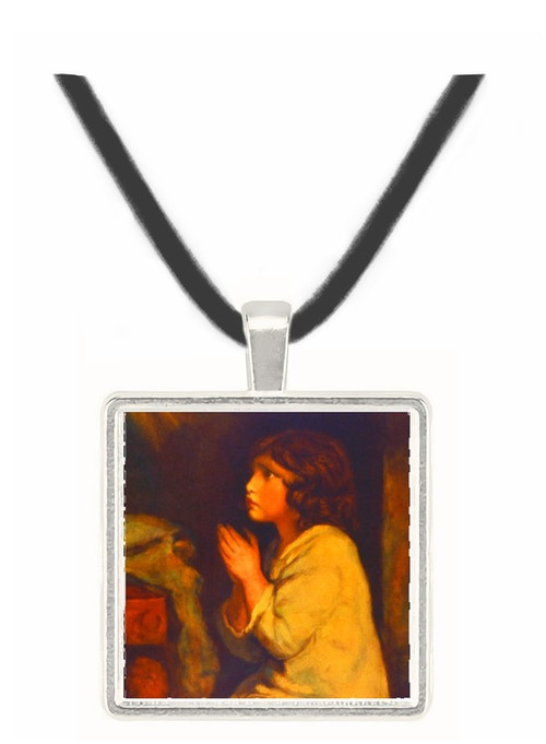 The Infant Samuel at Prayer - Sir John Everett Millais -  Museum Exhibit Pendant - Museum Company Photo