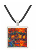 The Japanese Bridge #2 by Monet -  Museum Exhibit Pendant - Museum Company Photo