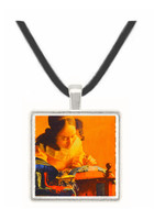 The Lace Maker - Jan Vermeer van Delft -  Museum Exhibit Pendant - Museum Company Photo