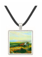 The last Buffalo by Bierstadt -  Museum Exhibit Pendant - Museum Company Photo