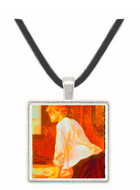 The Laundress by Toulouse-Lautrec -  Museum Exhibit Pendant - Museum Company Photo