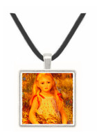 The Little Gleaner - Auguste Renoir -  Museum Exhibit Pendant - Museum Company Photo