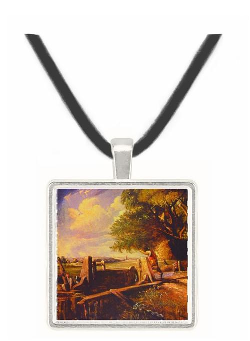 The Lock - John Constable -  Museum Exhibit Pendant - Museum Company Photo