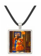 The Love Letter - Jan Vermeer van Delft -  Museum Exhibit Pendant - Museum Company Photo