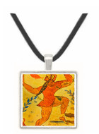 The Man with the Mask - Tomb of Anhurkhawi -  Museum Exhibit Pendant - Museum Company Photo