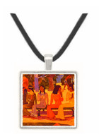 The Market - Paul Gauguin -  Museum Exhibit Pendant - Museum Company Photo