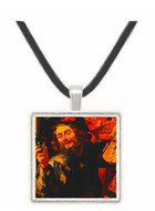 The Merry Fiddler - Gerard van Honthorst -  Museum Exhibit Pendant - Museum Company Photo