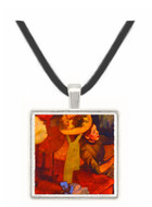The Millinery Shop - Edgar Degas -  Museum Exhibit Pendant - Museum Company Photo