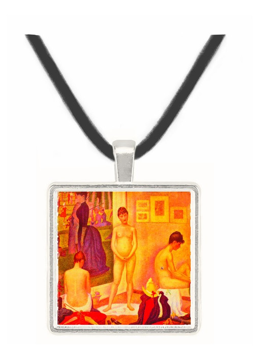 The models by Seurat -  Museum Exhibit Pendant - Museum Company Photo