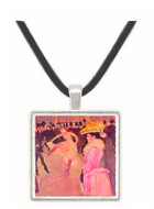 The Moulin Rouge 1890 - Henri de Toulouse Lautrec -  Museum Exhibit Pendant - Museum Company Photo